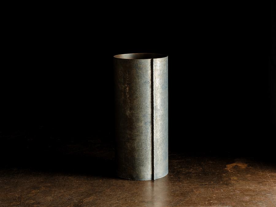 真鍮錫引き 傘立て